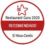 Restaurant guru 2020 El Nou-Cents Mataró