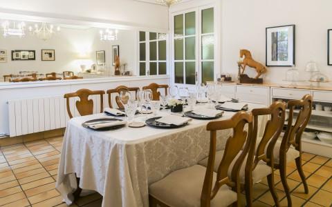 Menjador privat del restaurant el Nou-Cents de Mataró